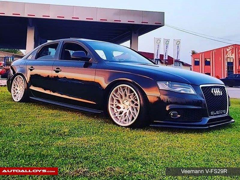 Audi A4                                                    Veemann V-FS29R Alloy Wheels. Owner @desho.44