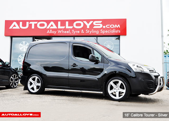 Citroen Berlingo 08 On 18 inch Calibre Tourer Style Alloy Wheels - Silver