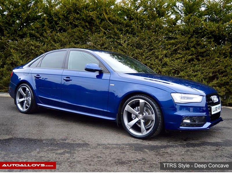 Audi A4 2012 RAW TTRS Style  Alloy Wheels