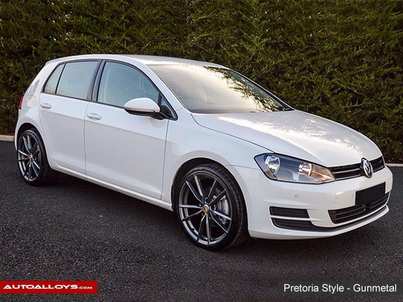 Volkswagen Golf 2013 RAW Pretoria Style - Gunmetal