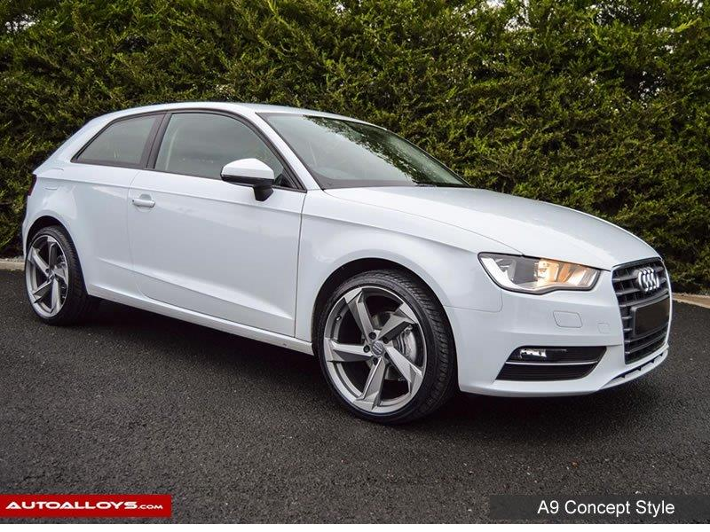 Audi A3 2014 Raw A9 Style Alloy Wheels