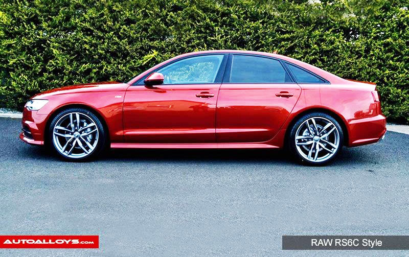Audi A6                                                    Raw RS6C Style Alloy Wheels