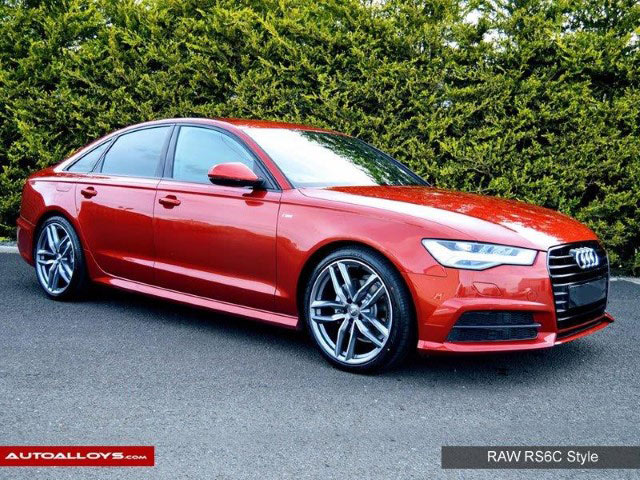 Audi A6                                                    Raw A9 Style