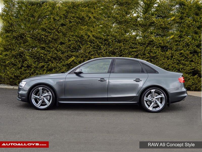 Audi A4                                                    Raw A9 Concept Style