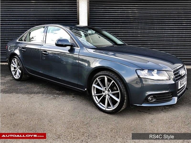 Audi A4                                                    Raw RS4C Style  Alloy Wheels