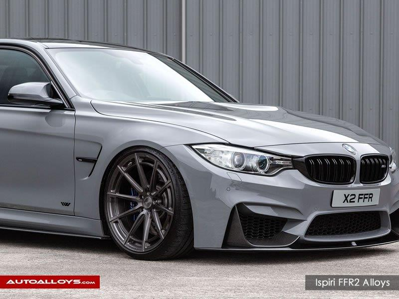 BMW M3                                                    Ispiri FFR2 carbon graphite alloy wheels