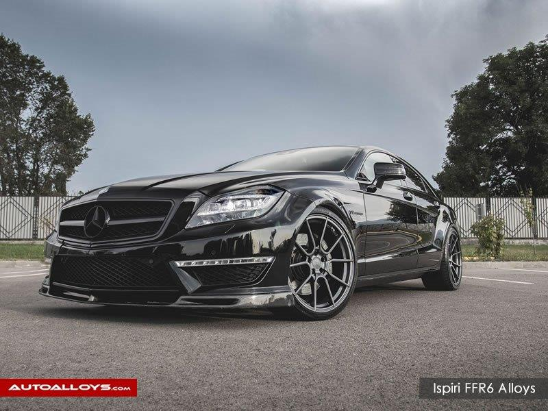 Mercedes C Class                                                    Ispiri FFR6 Carbon graphite alloy wheels