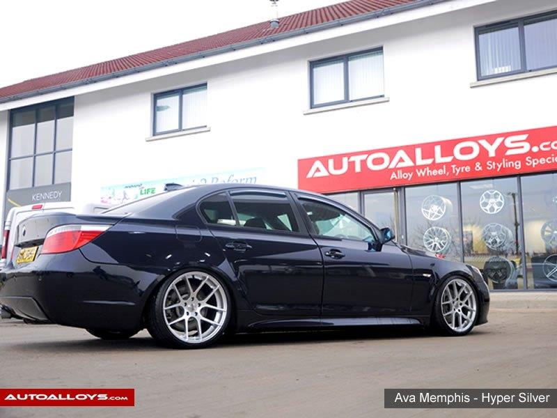 BMW 5 Series                                                    Ava Memphis Hyper Silver Alloy Wheels