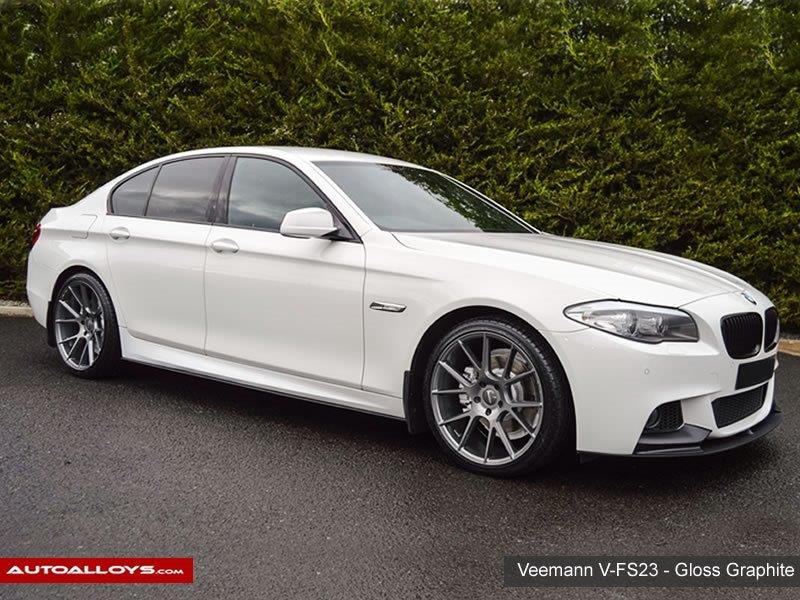 BMW 5 Series                                                    Veemann V-FS23 Gloss Graphite Alloy Wheels