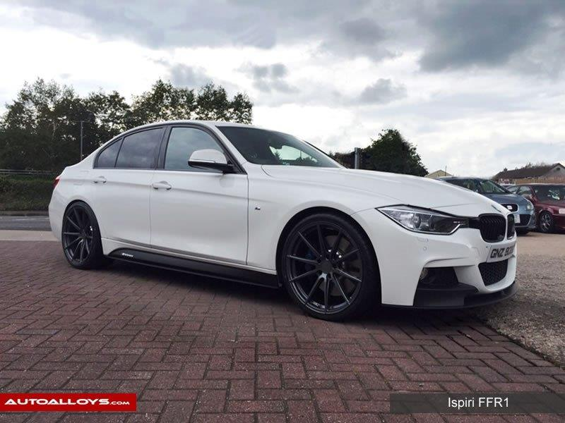 BMW 5 Series                                                    Ispiri FFR1 Carbon Graphite  Alloy Wheels