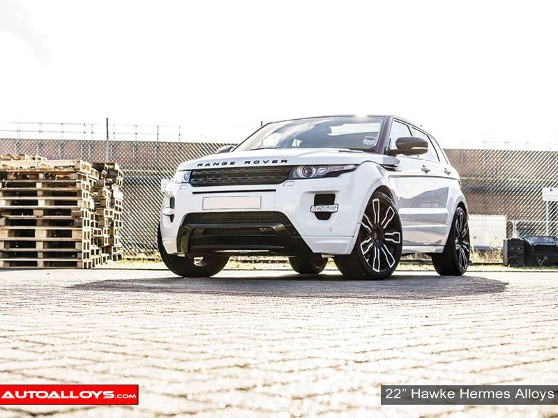 Land Rover Evoque                                                    Hawke Hermes Alloy Wheels