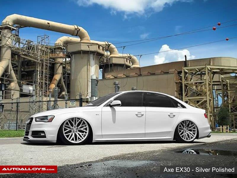Audi A6                                                    Axe EX30 - Silver Polished