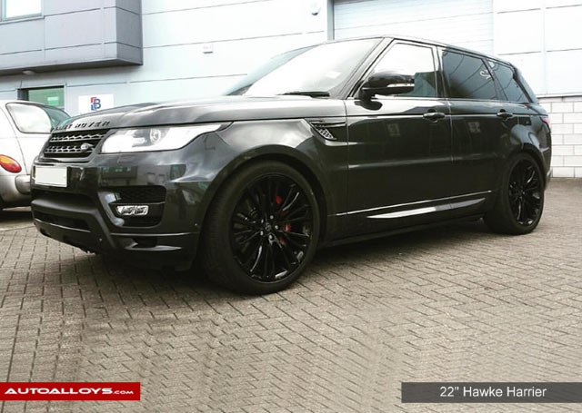 Land Rover Range Rover Sport                                                    Hawke Harrier Alloy Wheels