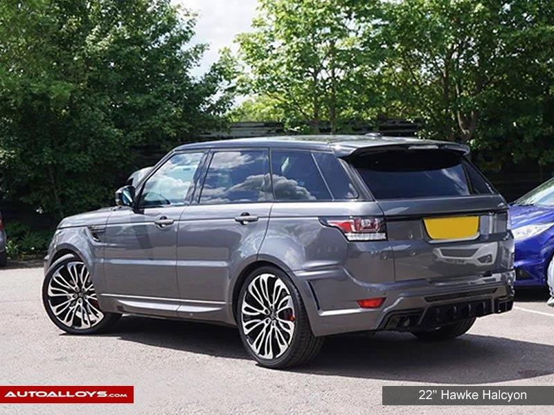 Land Rover Range Rover Sport                                                    Hawke Halcyon Alloy Wheels