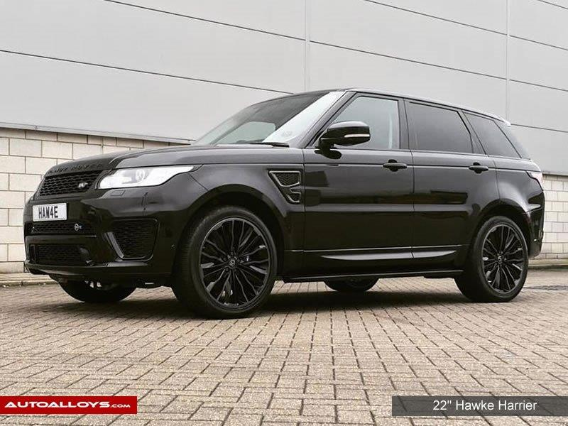 Land Rover Range Rover Sport                                                    22 inch Hawke Harrier Alloy Wheels