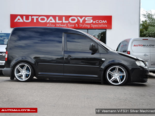 Volkswagen Caddy  15 On (MK4) 18 inch Veemann V-FS31 Silver Machined