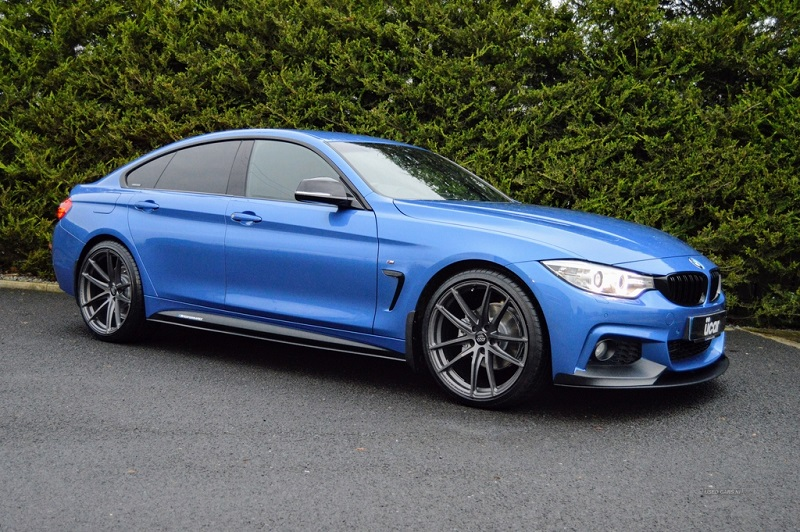 BMW 4 Series                                                          20 inch AVA HSF-012 GunMetal Alloy Wheels