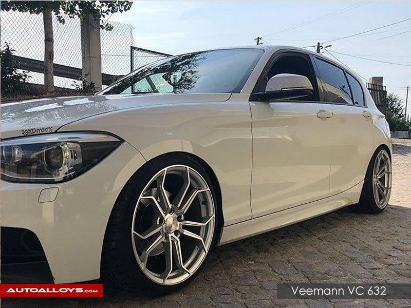 BMW 1 Series                                                    Veemann VC-632 Silver Machined Alloy Wheels