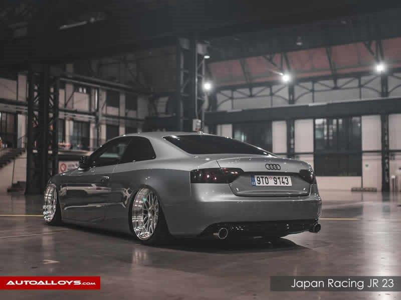 Audi A5                                                    Japan Racing JR 23 Silver Alloy Wheels