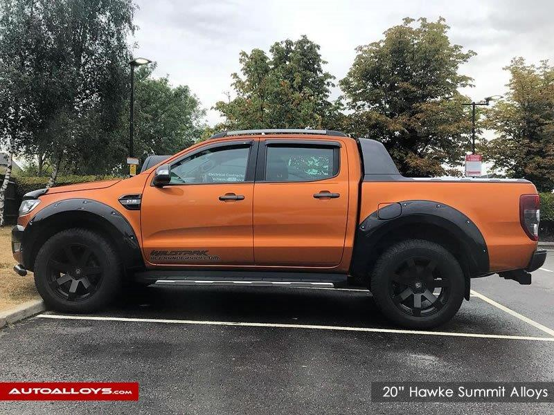 Ford ranger                                                    20 inch hawke Summit Alloy Wheels