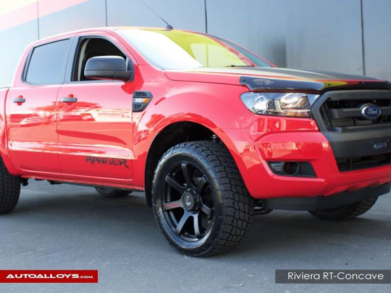 Ford ranger                                                    Lenso RT-Concave Matt Black Alloy Wheels