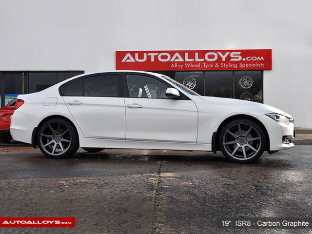 BMW 3 Series  12 on (F30) 19 inch Ispiri ISR8 Carbon Graphite