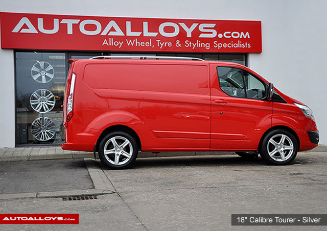 Ford Transit                                                     Ford transit with 18 inch Calibre Tourer