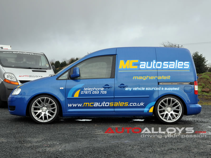 Volkswagen Caddy 04 On (MK3) 19 inch 3SDM 0.01 Alloy Wheels