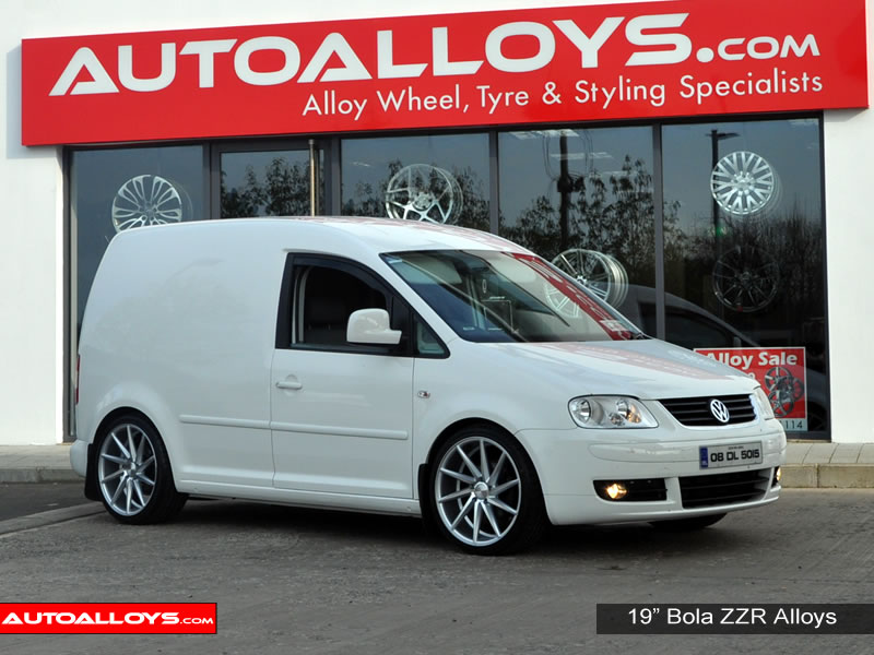 Volkswagen Caddy 04 On (MK3) 19 inch Bola ZZR Alloy Wheels