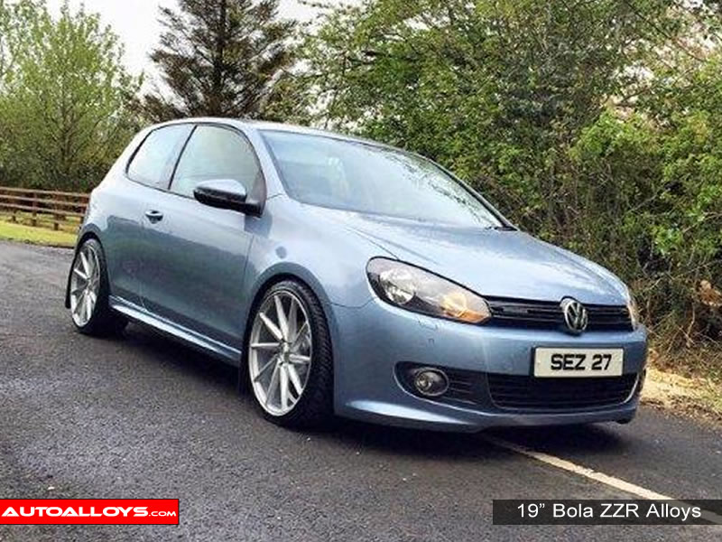Volkswagen Golf 08 - 13 (MK6) 19 inch Bola ZZR Alloy Wheels