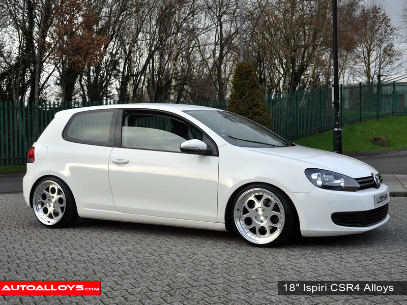 Volkswagen Golf 08 - 13 (MK6) 18 inch Ispiri CSR4 Alloy Wheels