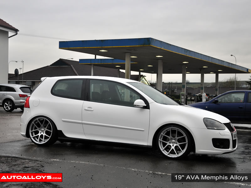 Volkswagen Golf 04 - 08 (MK5) 19 inch AVA Memphis Alloy Wheels