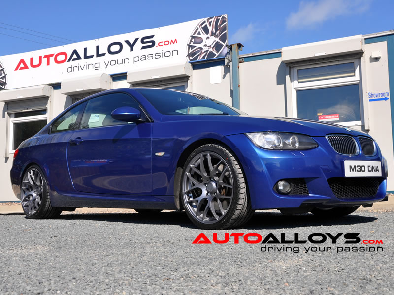BMW 3 Series 06 On (E92) 19 inch Fox MS007 Alloy Wheels