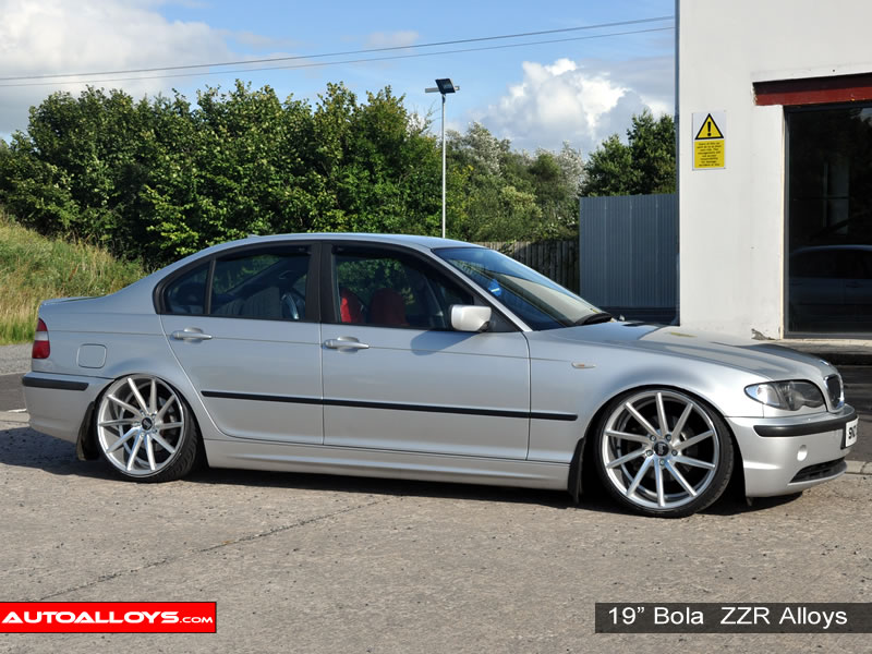 BMW 3 Series 98 - 05 (E46) 19 inch Bola ZZR Alloy Wheels