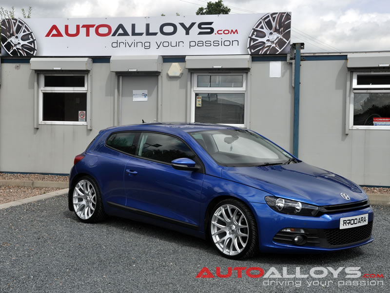 Volkswagen Scirocco 08 On 19 inch AVA Phoenix Alloy Wheels