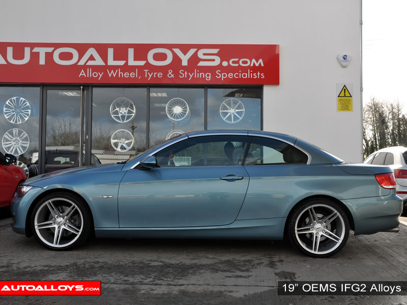 BMW 3 Series 07 On (E93) 19 inch OEMS IFG2 Alloy Wheels