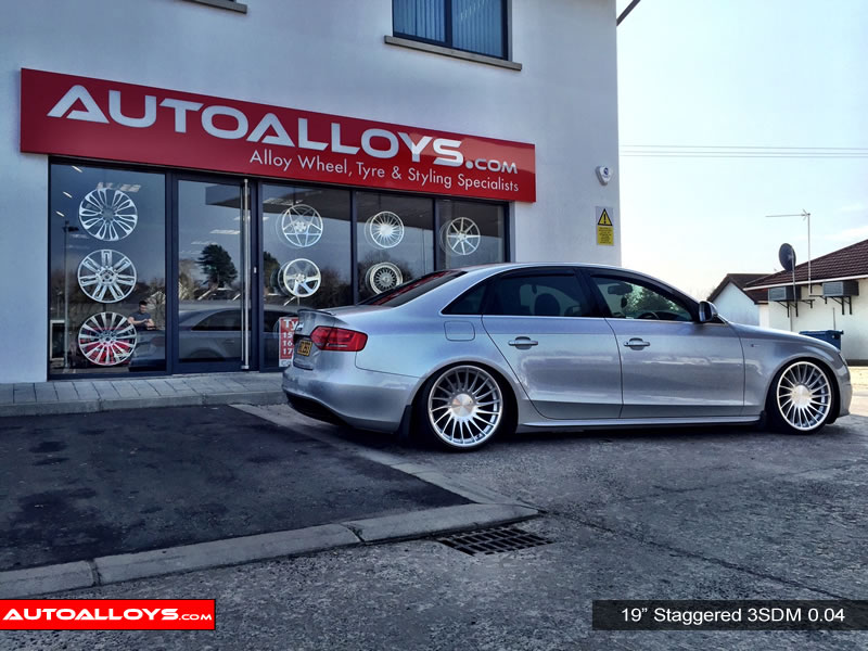 Audi A4 08 On (B8) 19 inch 3SDM 0.04 Alloy Wheels