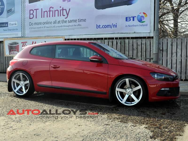 Volkswagen Scirocco 08 On 19 inch OEMS 115 Alloy Wheels