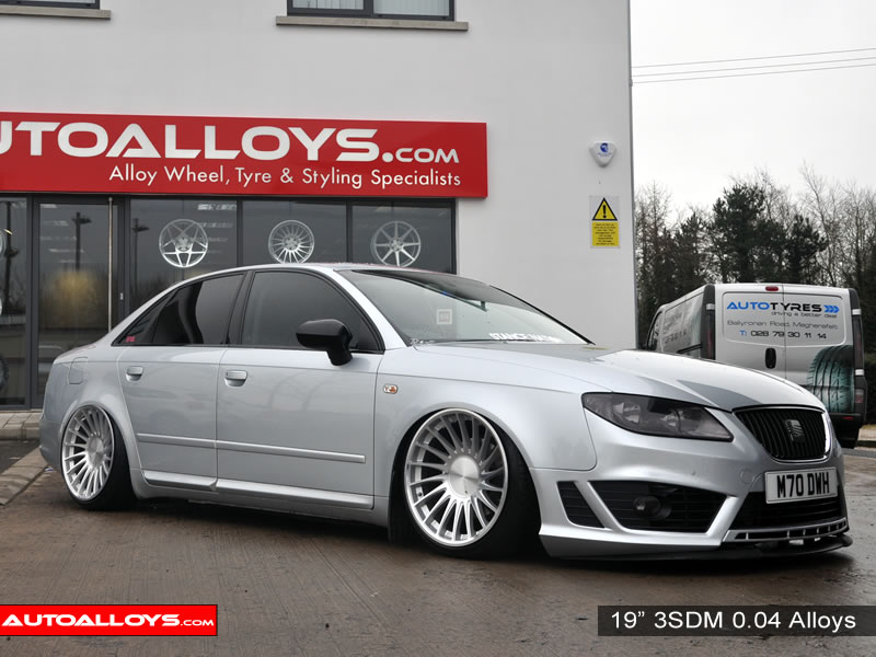 Seat Exeo 09 On (3R) 19 inch 3SDM 0.04 Alloy Wheels