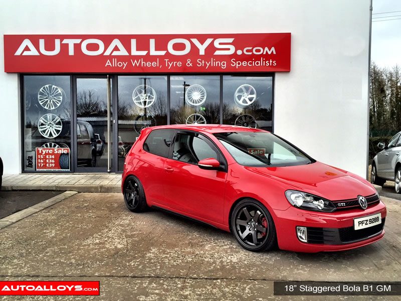 Volkswagen Golf 13 On (MK7) 18 inch Bola B1 Alloy Wheels