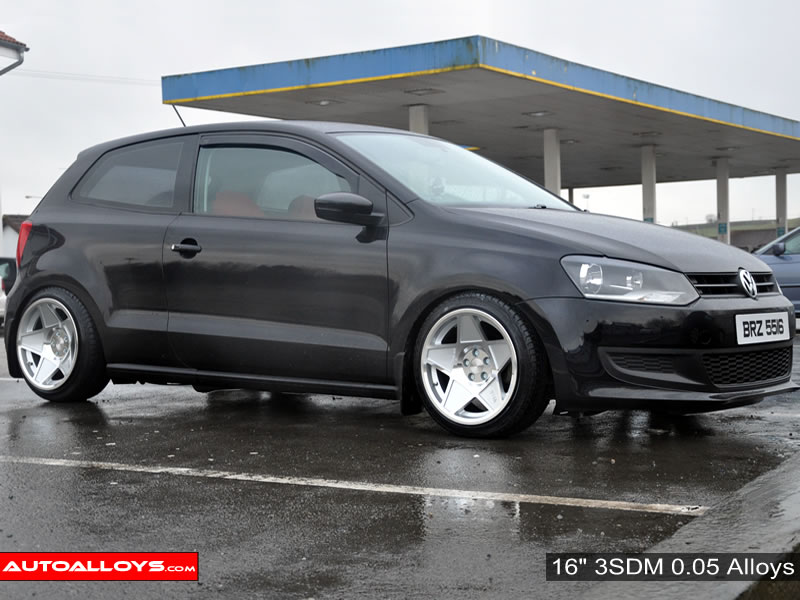 Volkswagen Polo 09 On (6R) 16 inch 3SDM 0.05 Alloy Wheels