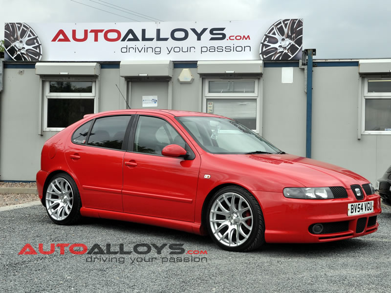 Seat Leon 99 - 05 (1M) 18 inch 3SDM 0.01 Alloy Wheels