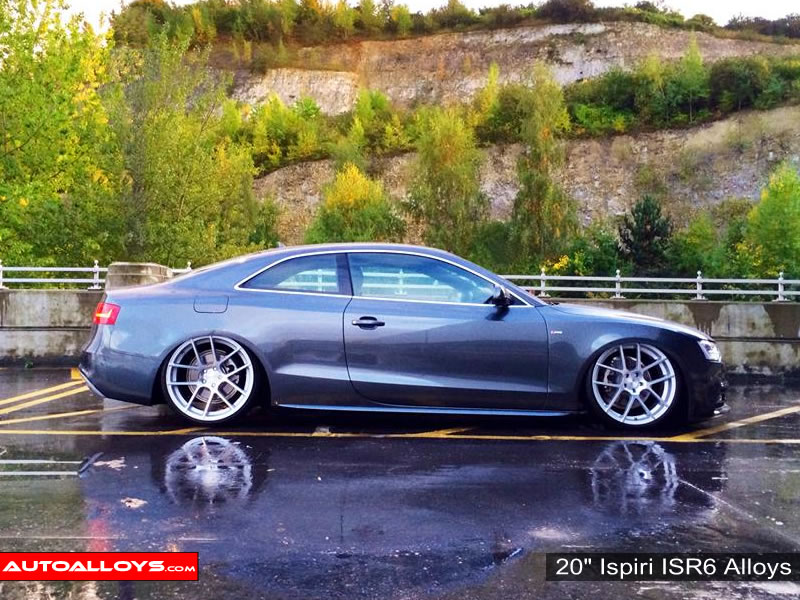 Audi A5 09 On 20 inch Ispiri ISR6 Alloy Wheels