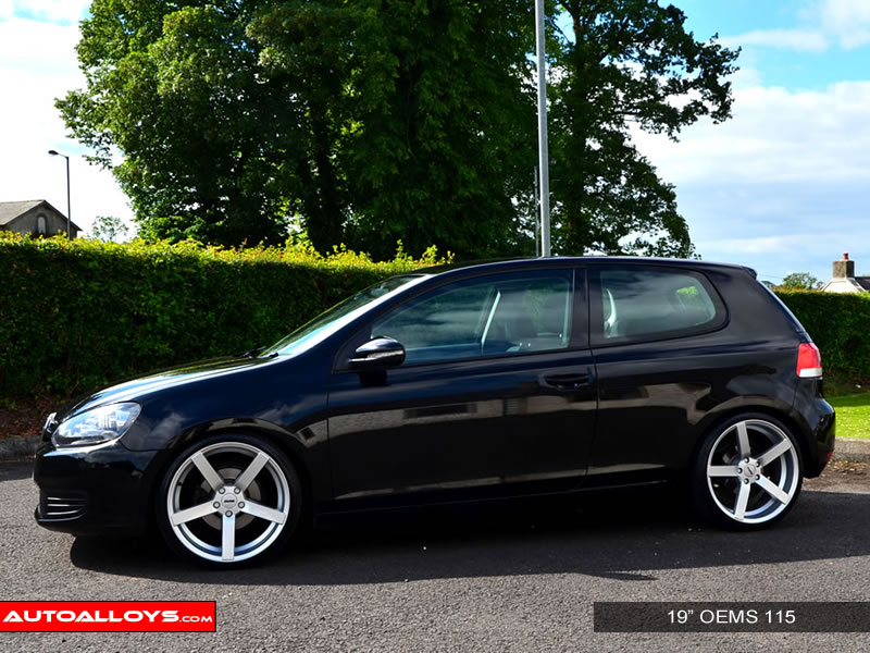 Volkswagen Golf 08 - 13 (MK6) 19 inch OEMS 115 Alloy Wheels