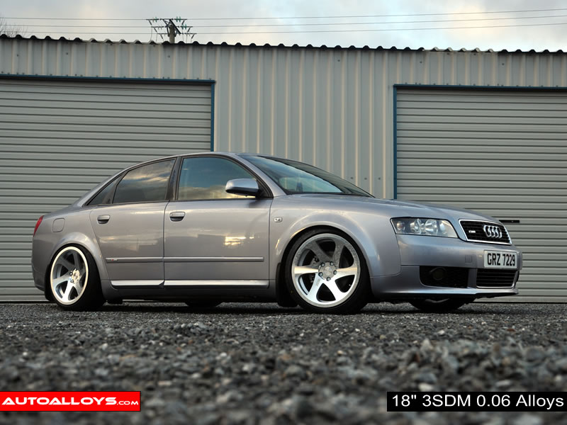 Audi A4 01 - 04 (B6) 18 inch 3SDM 0.06 Alloy Wheels