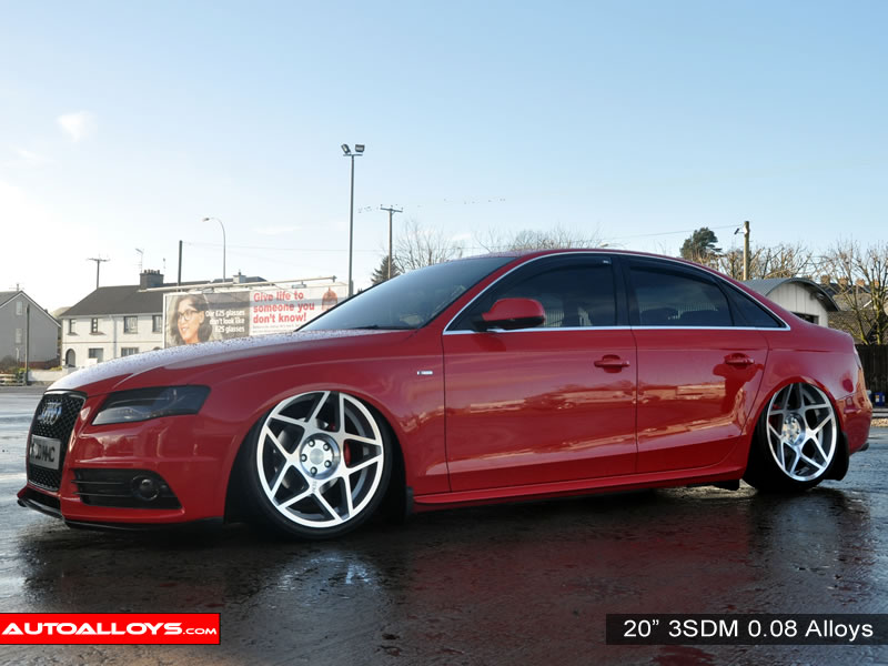 Audi A4 08 On (B8) 20 inch 3SDM 0.08 Alloy Wheels