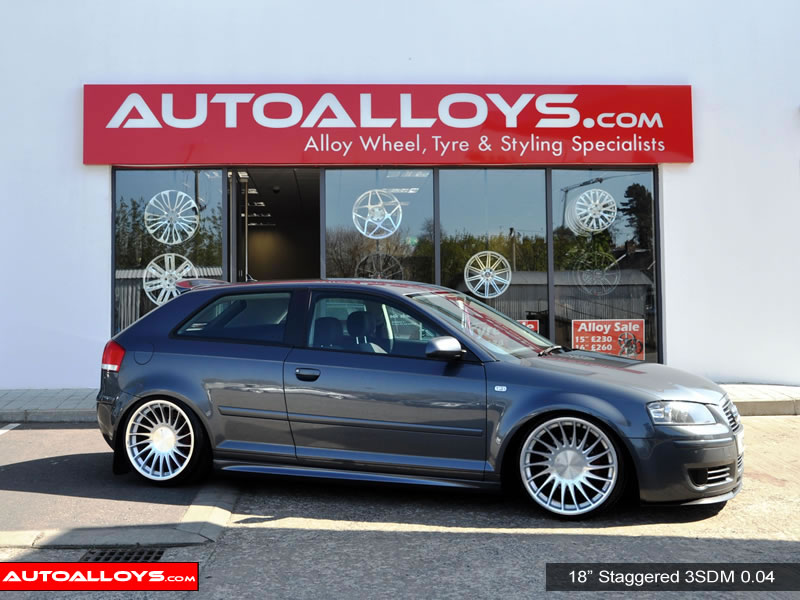 Audi A3 04 - 12 (MK2) (8P) 18 inch 3SDM 0.04 Alloy Wheels