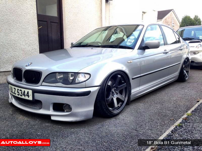 BMW 3 Series 98 - 05 (E46) 18 inch Bola B1 Alloy Wheels
