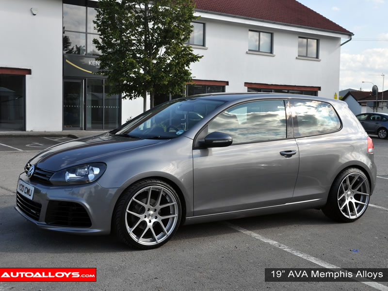 Volkswagen Golf 08 - 13 (MK6) 19 inch AVA Memphis Alloy Wheels