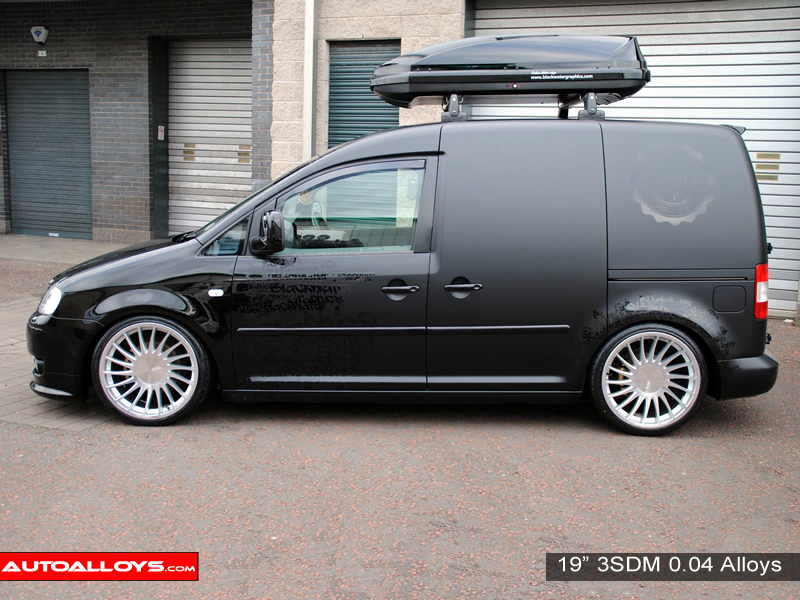 Volkswagen Caddy 04 On (MK3) 19 inch 3SDM 0.04 Alloy Wheels